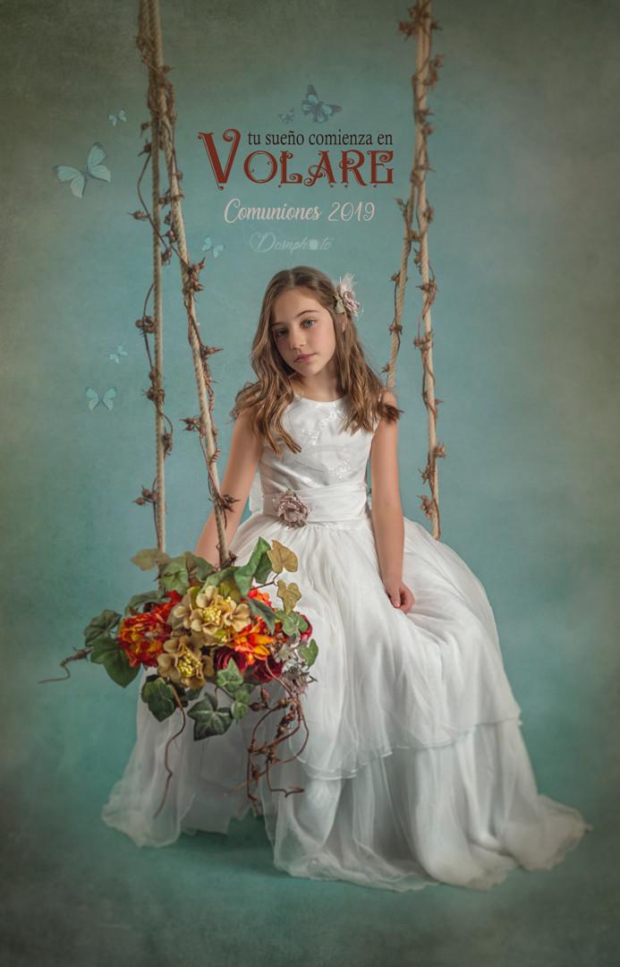reportaje-diferente-original-comunión-columpio-flores-fotografo-hospitalet